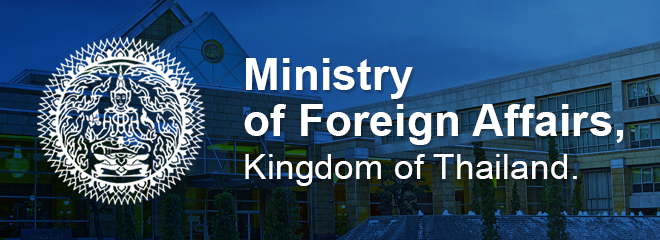Ministry of Foreign Affairs, Kingdom of Thailand.
